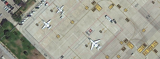 WorldView-3 image (resolution 40 cm, 21.08.2014), Madrid, Spain © 2014 DigitalGlobe - WorldView-3, the newest satellite of DigitalGlobe company and now the most powerful Earth-imaging commercial satellite ever built, will collect imagery at 0.31 meter resolution
